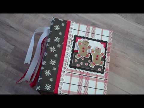 Christmas Mini Album Scrapbook