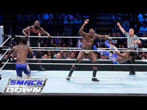 Prime Time Players & Mark Henry vs. The New Day: Smackdown – 6. August 2015