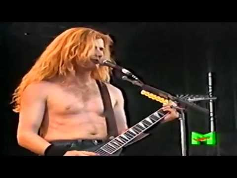 Megadeth - Anarchy In The UK (Live In Italy 1992) HD / HQ