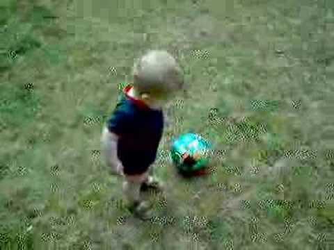 Jonathan, future football star...