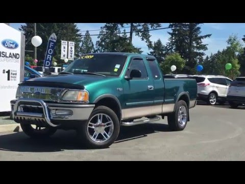 1997 ford f 150 series supercab 139 4wd xl island ford youtube. Black Bedroom Furniture Sets. Home Design Ideas
