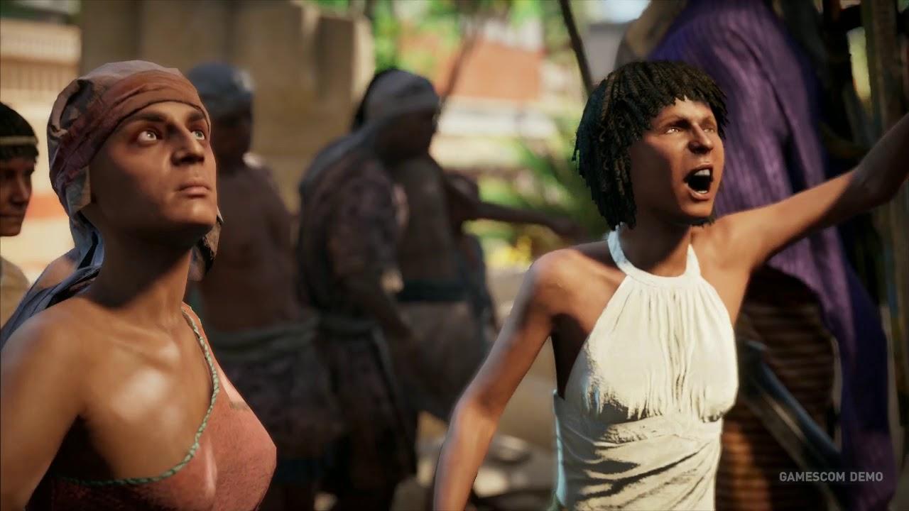 Assassin's Creed Origins: Gamescom mission part 3