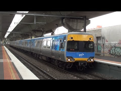 Metro trains around Melbourne #9