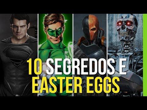 10 SEGREDOS E EASTER EGGS DE LIGA DA JUSTIÇA!