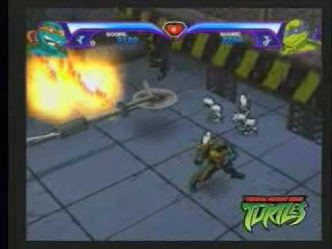 Teenage mutant ninja turtles 2003 video game preview youtube solutioingenieria Image collections