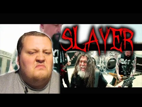 SLAYER - Repentless (OFFICIAL MUSIC VIDEO) REACTION!!!