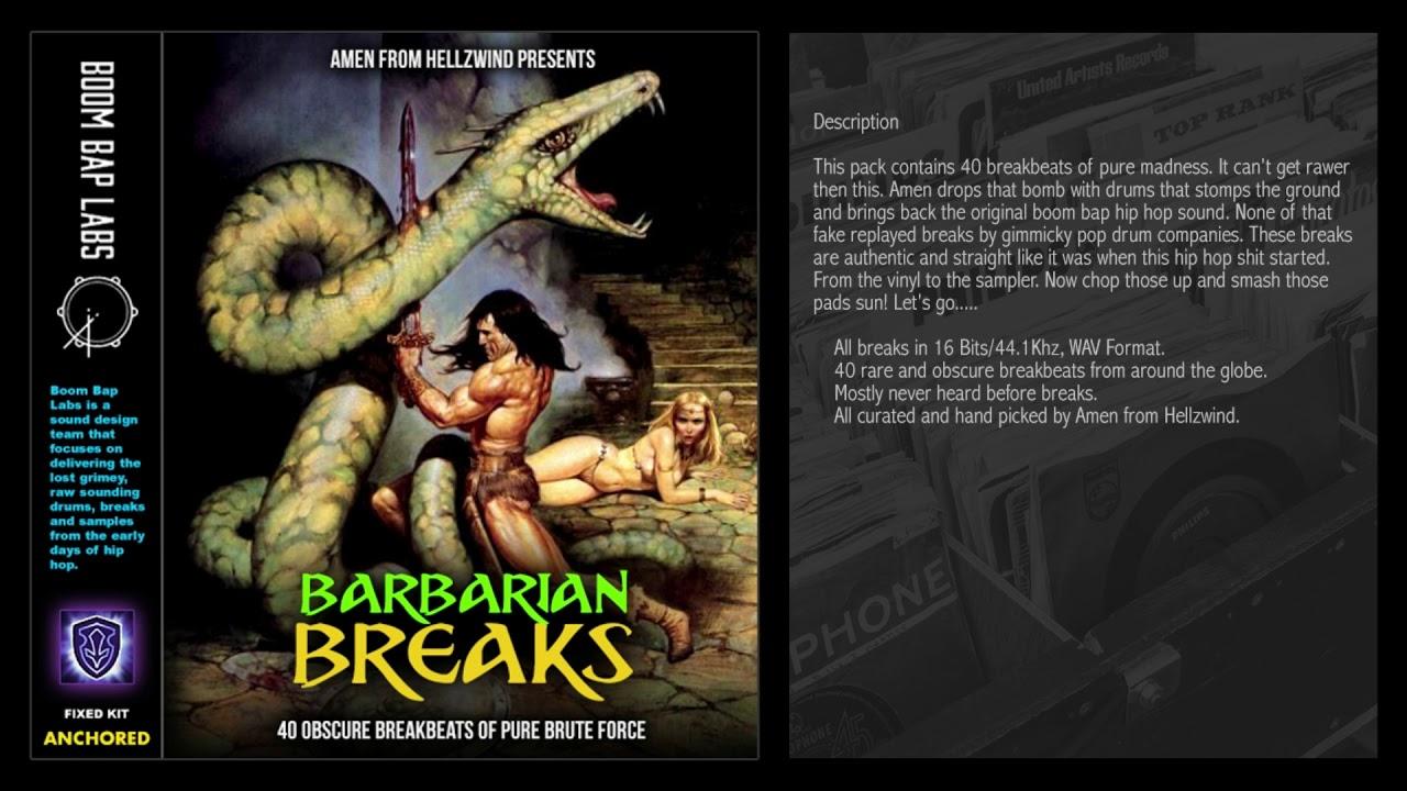 Boom Bap Labs - Barbarian Breaks - Breakbeats