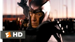 X-Men: The Last Stand (2/5) Movie CLIP - Magneto's Bridgework (2006) HD