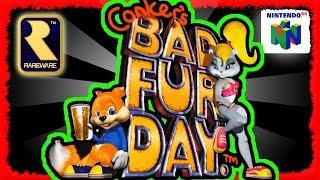 Conker´s BFD: Von Twelve Tales über Bad Fur Day bis Live and Reloaded