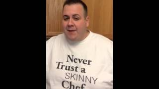 Chef Hesse the Morning of His Weight Loss Surgery with Western Bariatric in Reno