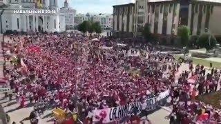 """Навальный - """"Как жаль, что иностранцы скоро уезжают!"""" или о футбольных болельщиках"""