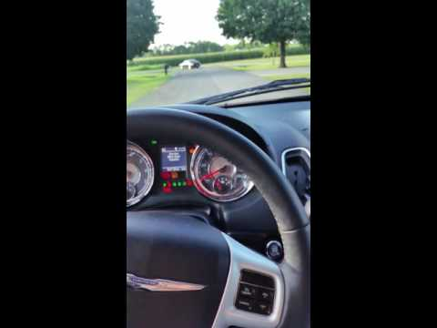 2014 Chrysler Town And Country Touring L Dash Lights And Wipers Going Crazy