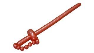 Изготовление сабли из воздушных шаров(Простейшая модель сабли из шаров для моделирования (ШДМ). Больше информации: http://sharlar.ru/page/twist-sable.html Блог..., 2011-10-10T16:24:09.000Z)