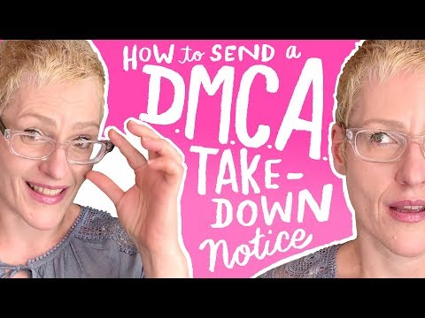 How I Send A DMCA Takedown Notice | Dealing With Copyright Infringement  | Kathy Weller Art