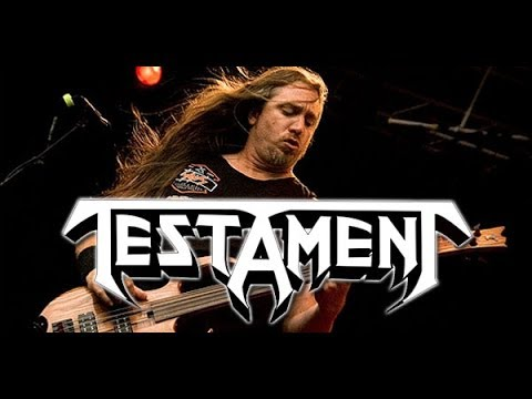 TESTAMENT's Bassist Steve Di Giorgio Discusses Tour, Upcoming New Album, GWAR & Projects (2014)
