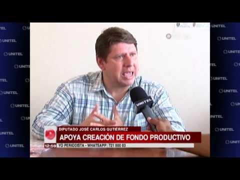 Diputado Gutiérrez defiende la creación de un Fondo para los empresarios