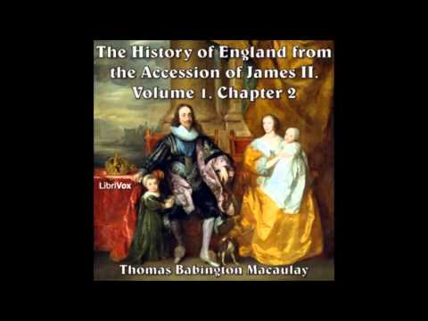 The History of England from the Accession of James II, volume 1, Chapter 2 part 1-3