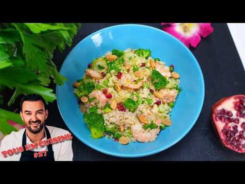 tous-en-cuisine-#27-:-je-teste-le-taboulÉ-vert-aux-crevettes-de-cyril-lignac-!