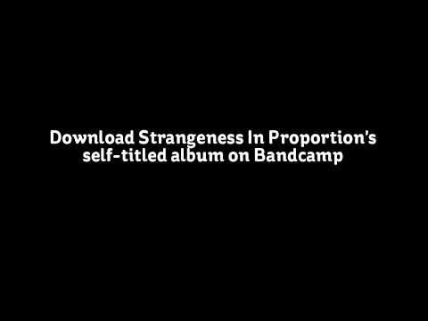 Drained- Strangeness In Proportion (Official Lyric Video)