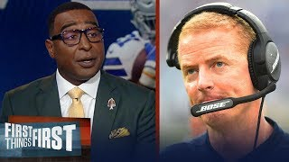 Cris Carter breaks down why Jason Garrett is on the hot seat in Dallas | NFL | FIRST THINGS FIRST