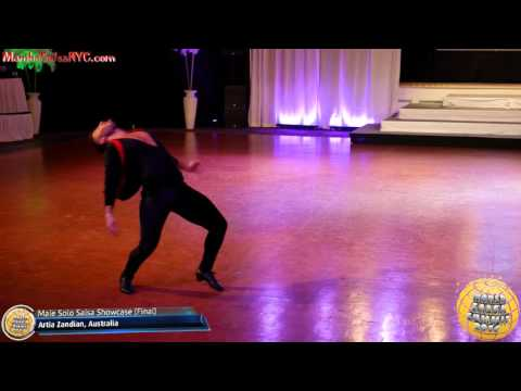 WSS16 Feb5. Male Solo Salsa Showcase Final