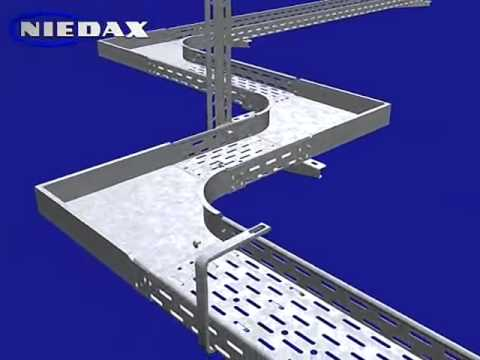 Cable Tray Installation Method Youtube