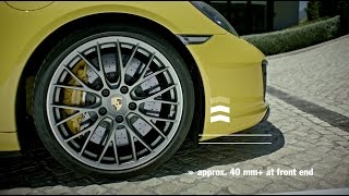 The new Porsche 911 Carrera – Front-axle lift system