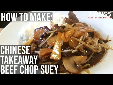 Ziangs: Chinese Takeaway Beef Chop Suey