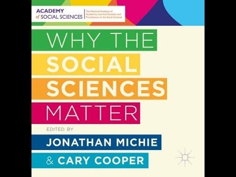 Palgrave Macmillan - Why the social sciences matter