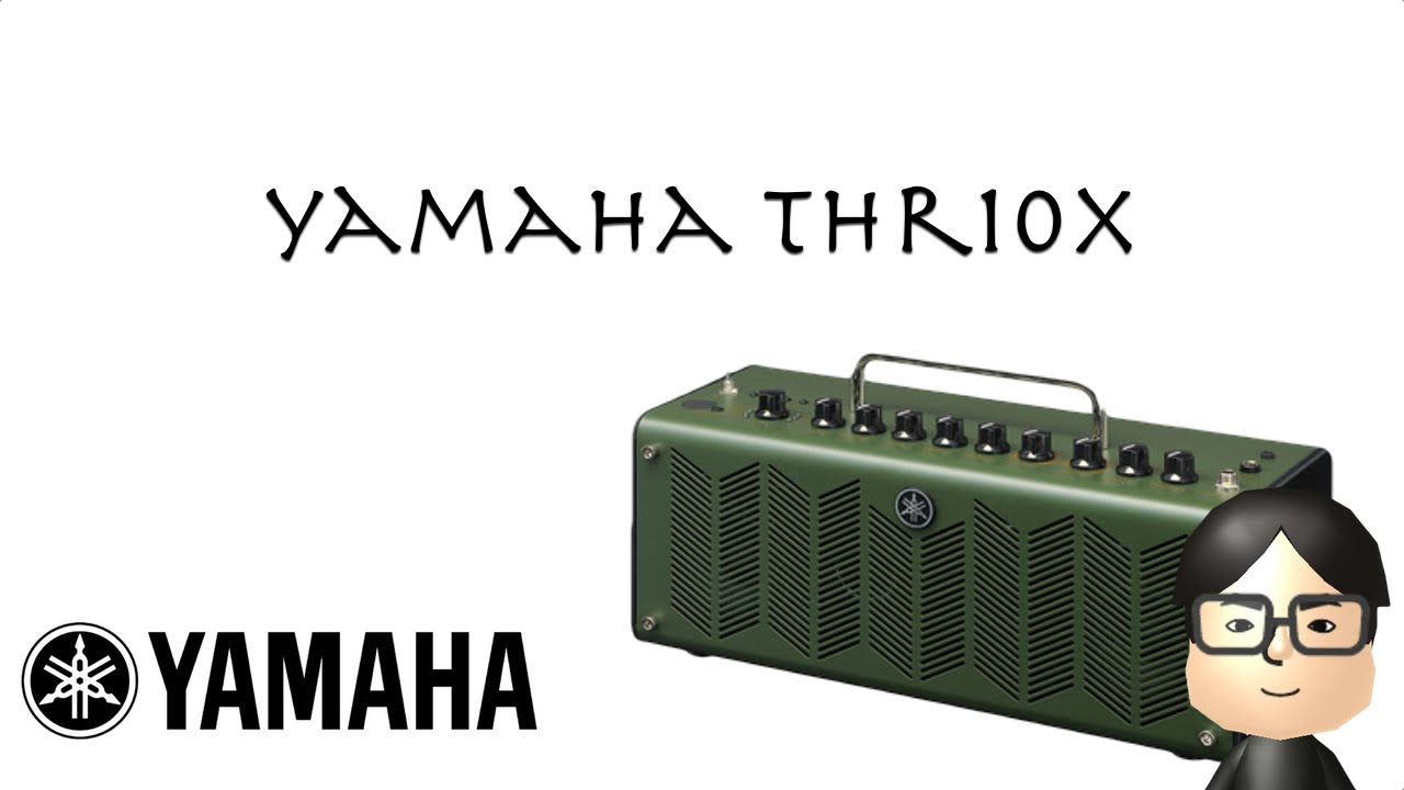 Yamaha thr10x review roberto torao youtube for Yamaha thr10x review