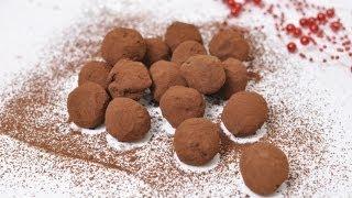 Трюфели шоколадные. Готовим дома
