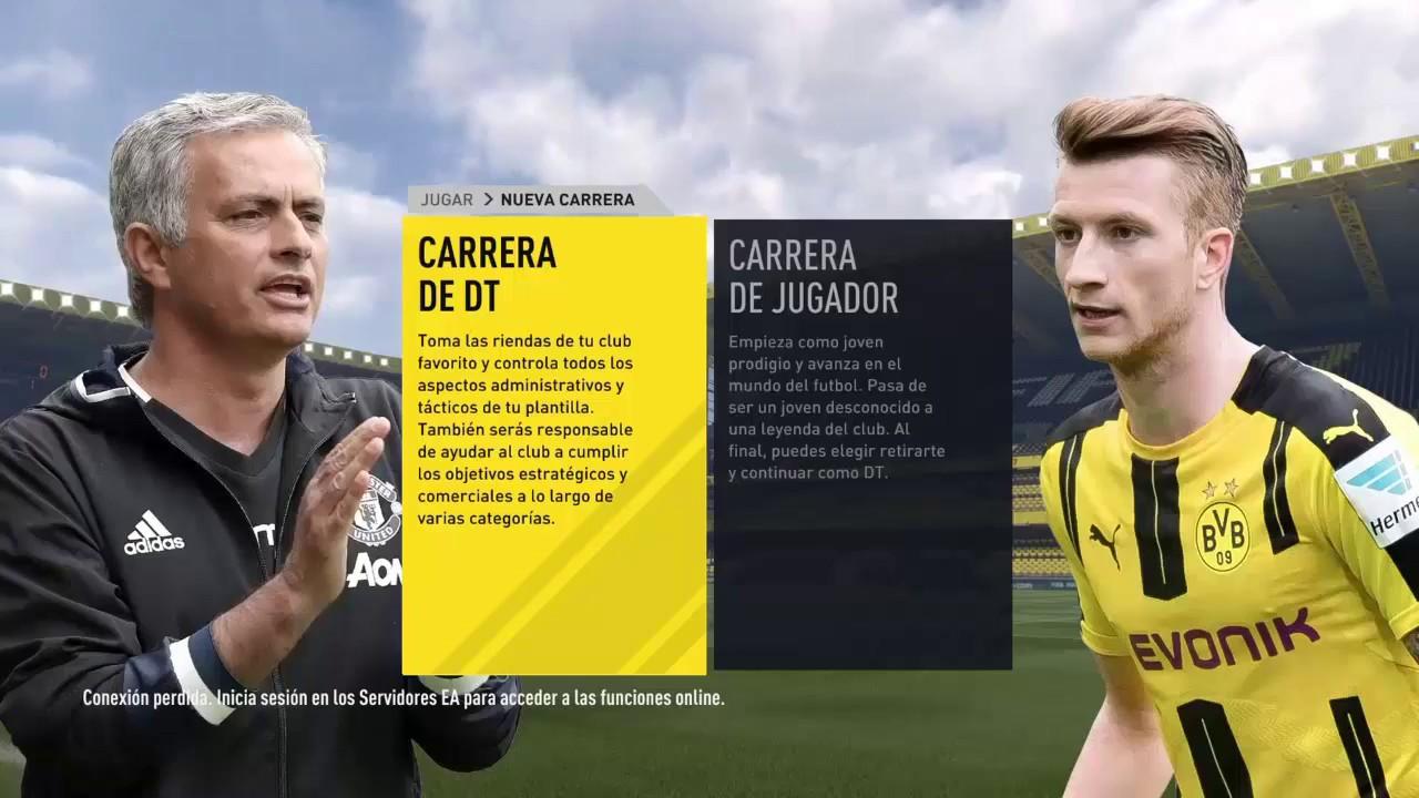 FIFA 17 MODO CARRERA CON ATLETICO NACIONAL  •CAPITULO 1•  - YouTube