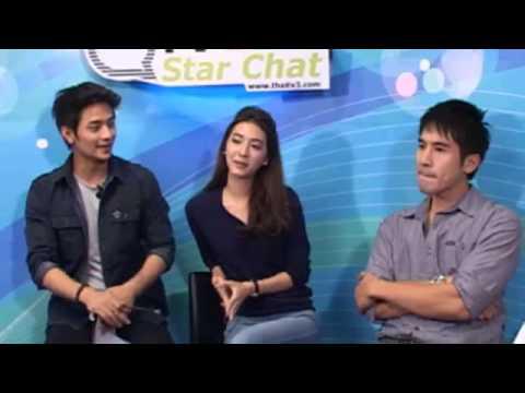 130410 Thaitv3 - Star Chat คุณชายปวรรุจ โป๊ป-มิว