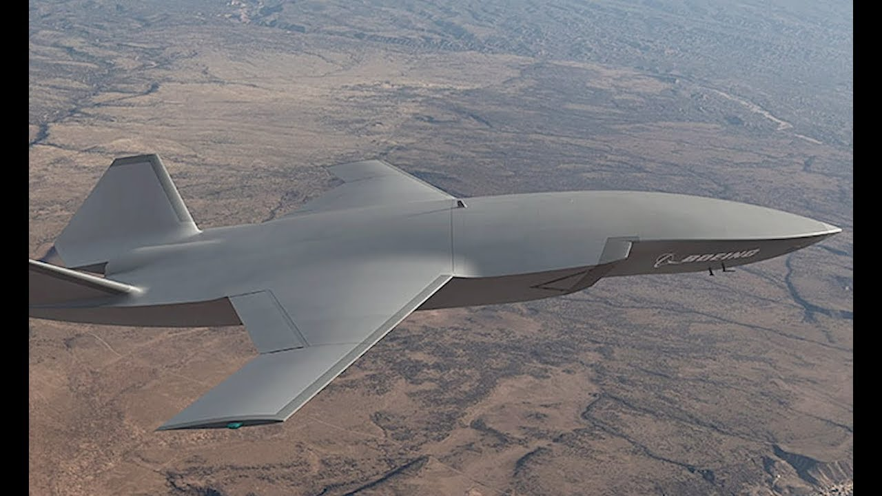Boeing's Unmanned Fighter Jet to Take to the Skies in 2020 - YouTube