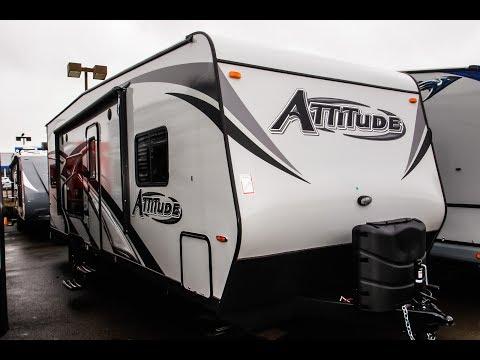 2018 Eclipse Attitude 23 SA Toy Hauler Travel Trailer Video Tour • Guaranty.com