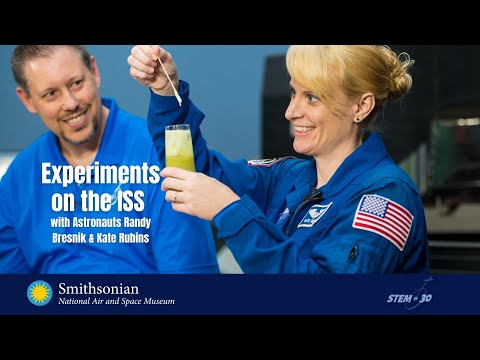 Learn How Experiments Are Conducted on the ISS