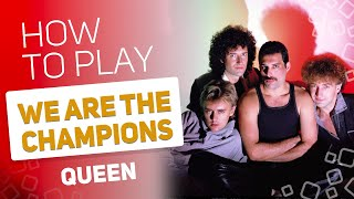 Queen - We Are The Champions | SUPER PADS KIT WINNERS