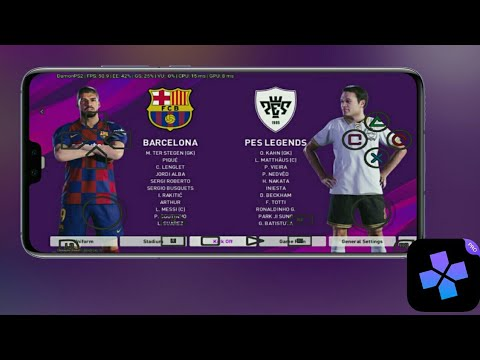 Download Pes 2020 Damon PS2 Android Offline 1.80 GB