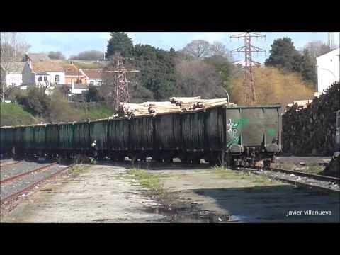 Maniobras Renfe en Ferrol1º