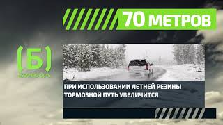 Каков тормозной путь автомобиля на скользкой дороге?