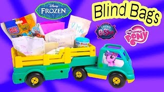Disney Frozen Fash'ems Blind Bag Handmade Toy Surprise Cookieswirlc MLP Twilight Unboxing Video