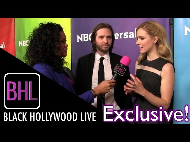 Aaron Stanford & Amanda Schull - Syfy's