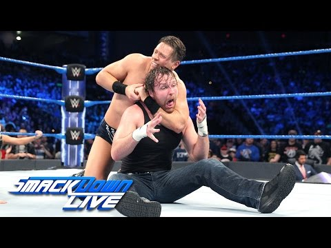 The Miz vs. Dean Ambrose - Intercontinental Championship Match: SmackDown LIVE, Jan. 3, 2017