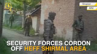 Shopian Gunfight Ends, Two Jawans Injured