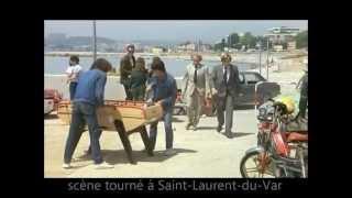 Les Compères - scène tourné à Saint-Laurent-du-Var