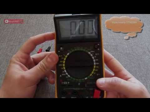 Мультиметр DT9208A 1