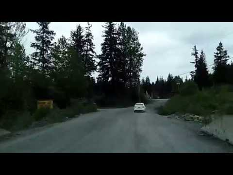 Seward to Exit Glacier, Kenai Fjords National Park Scenic Drive Dashcam