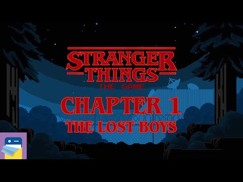 Stranger Things The Game: Chapter 1 The Lost Boys Walkthrough &  iOS iPhone Gameplay (by BonusXP)