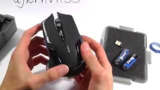 mazer E-3LUE Распаковка и обзор отличной беспроводной мыши!