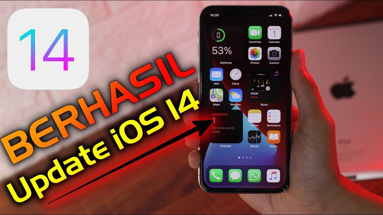 Cara Update iOS 14 di iPhone: BERHASIL 100% MANTAP 👍